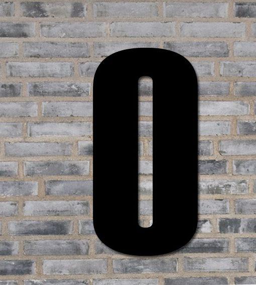 husnummer tallet 0