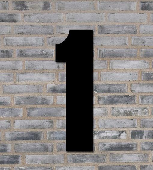 husnummer tallet 1