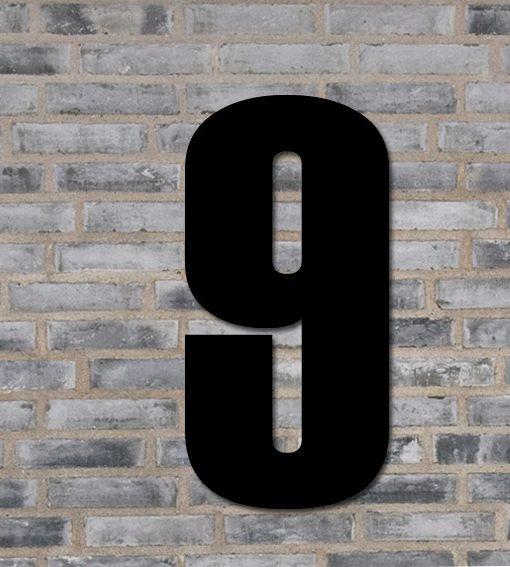 husnummer tallet 9