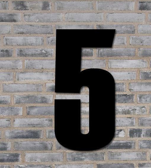 sort husnummer 5