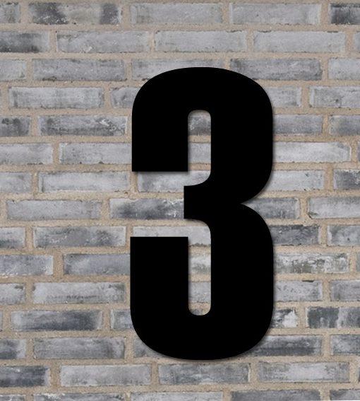 stort husnummer 3