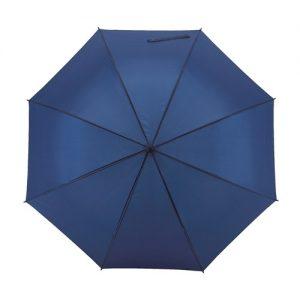 blå paraply