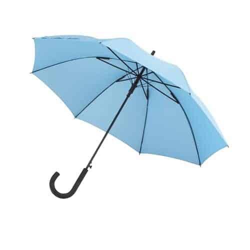 lyseblå paraply