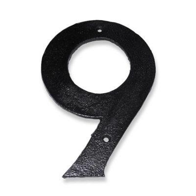 9 tal støbejern
