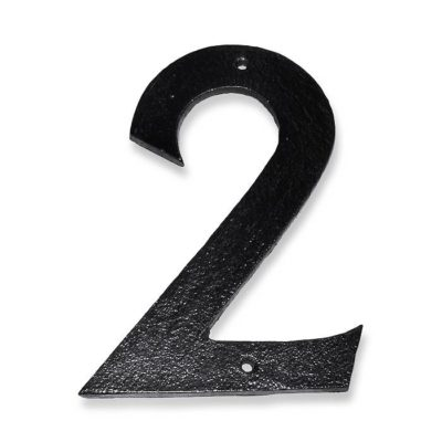 støbejern husnummer