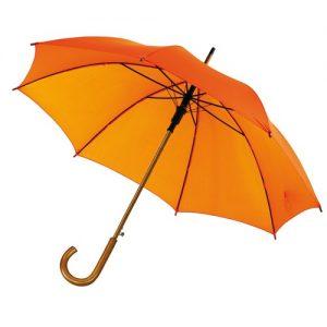 automatisk orange paraply