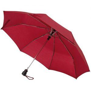 bordeaux rød taskeparaply