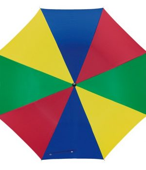 Flere farvet paraply