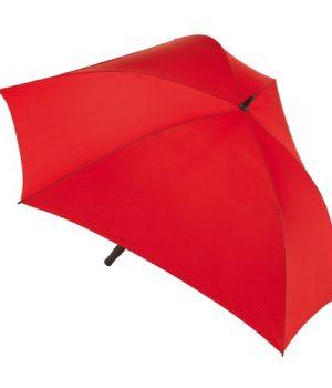 Rød retro paraply
