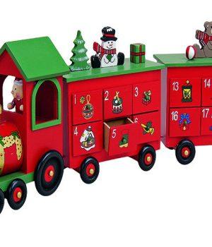 Julekalender legetøjstog