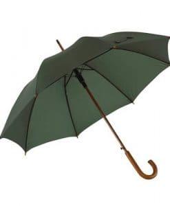 mørk grøn paraply