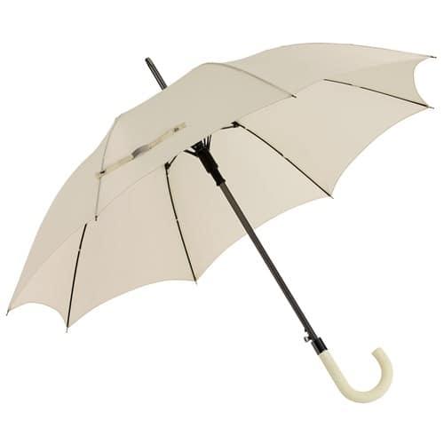 Herre paraply beige