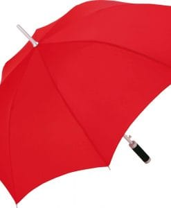 Rød golf paraply
