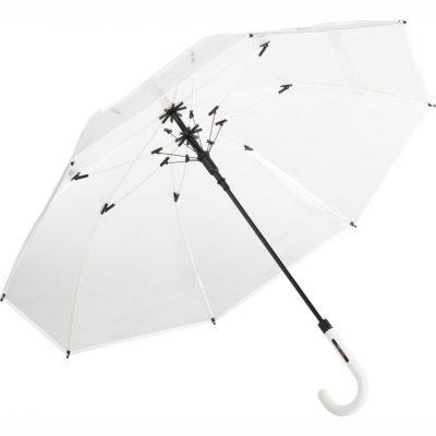 hvid gennemsigtig paraply