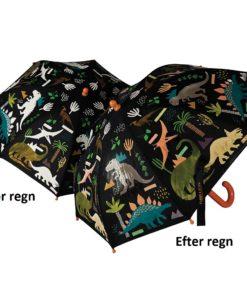 børne paraply dino
