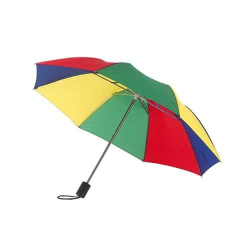 regnbuefarvet paraply